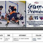 TOSTI: GAME 5: SWAMP RABBITS RETURN TO GREENVILLE WITH SERIES TIED