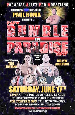 PARADISE ALLEY PRO WRESTLING