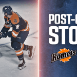 TOSTI:KOMETS FLY BY SWAMP RABBITS IN FIRST OF TWO GAMES