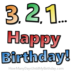 How Many Days Until My Birthday Com Countdown Clock Calculator
