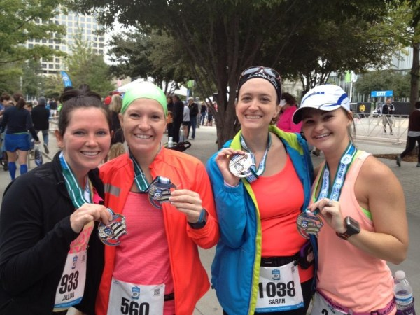 Finishers!