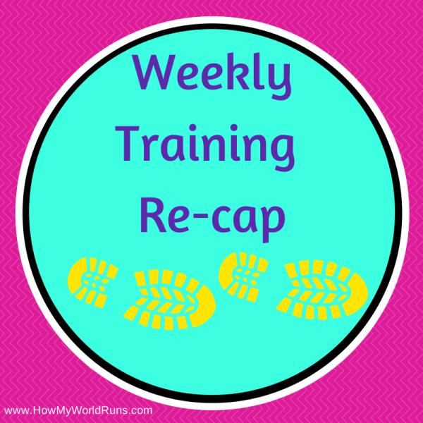 Weekly training recap2
