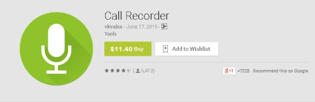 Call Recorder by Skvalex for Android Phones