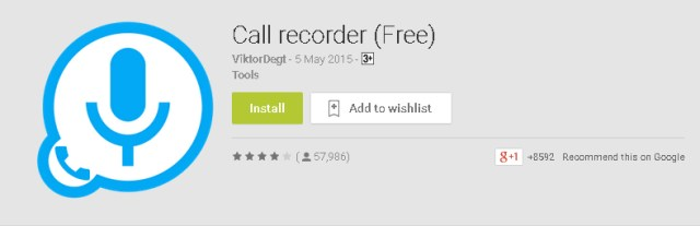 Call Recorder by ViktorDegt for Android Mobiles Phones