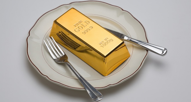 items food made gold real most with expensive