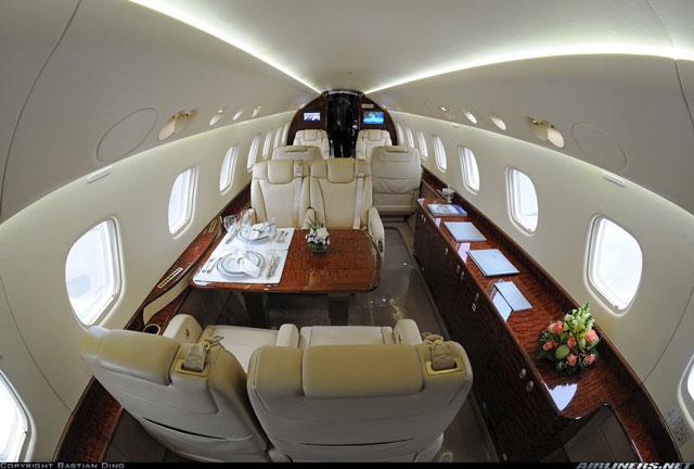 Embraer Legacy 650 Interior