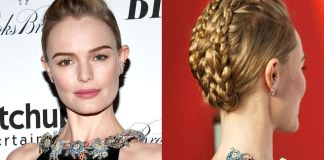 Bun-Braid Hairstyle