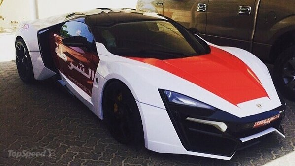 Lykan Hypersport Police Car