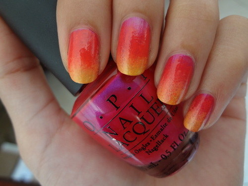 Ombre and fades Nail Art