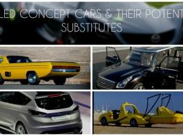 FAILED CONCEPT CARS