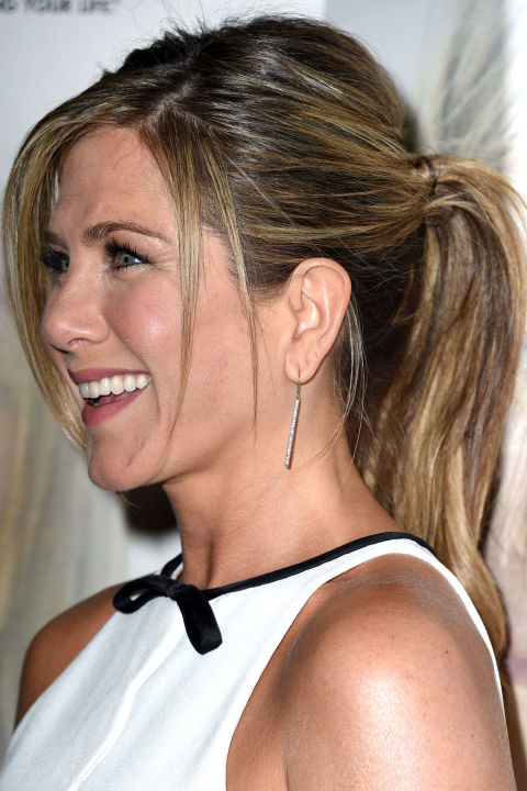 Casual strands ponytail hairstyles