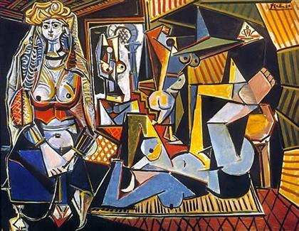 Les Femme D'Alger Painting