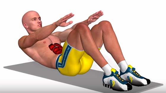 abdominals crunches