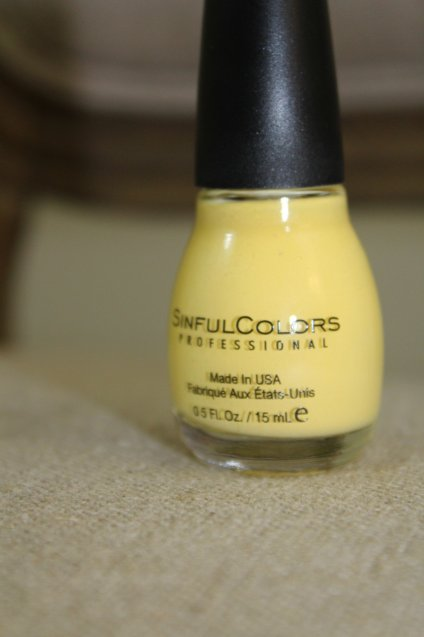 The Face Of Style: April 2017 Favorites - Yolo Yellow Nail Polish