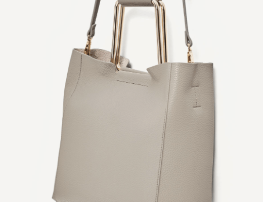 Mother's Day Gift Guide - The Face Of Style: Faux Leather Bag _ Zara
