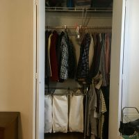 DIY Reach In to Walk In Closet, Kind Of