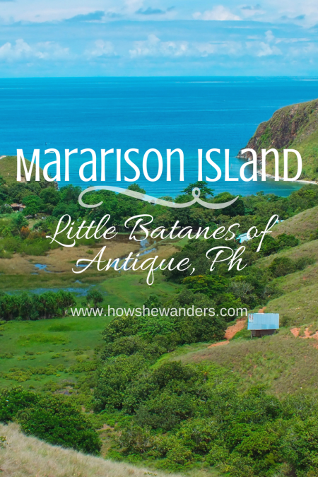Mararison Island | Little Batanes of Antique, Ph | White sand beach, stunning sandbar, crystal clear waters, rolling hills, such were the main highlights of our day-trip to this island paradise. Just 15-20 minutes boat ride from Culasi mainland, Mararison Island (also called Malalison) was put under tourism spotlight due to its massive beauty, accessibility, and hospitable community. - How She Wanders
