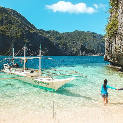 Nacpan Beach | Charming Sunset Spot in El Nido, Palawan