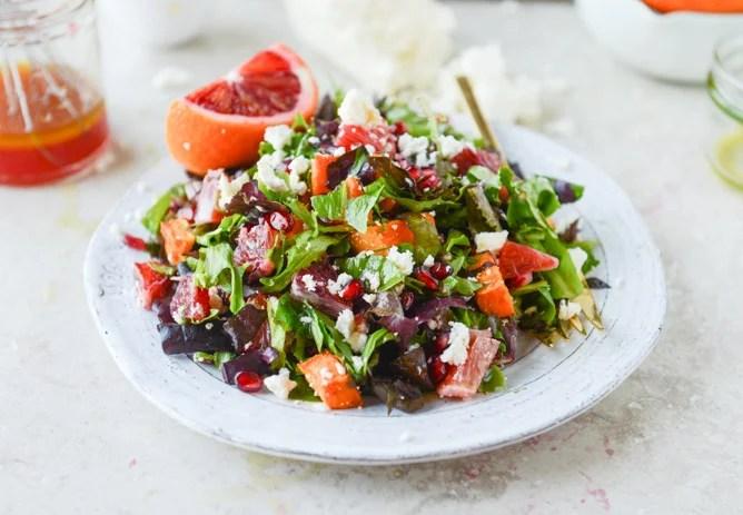 Blood orange salad for the Friday link roundup