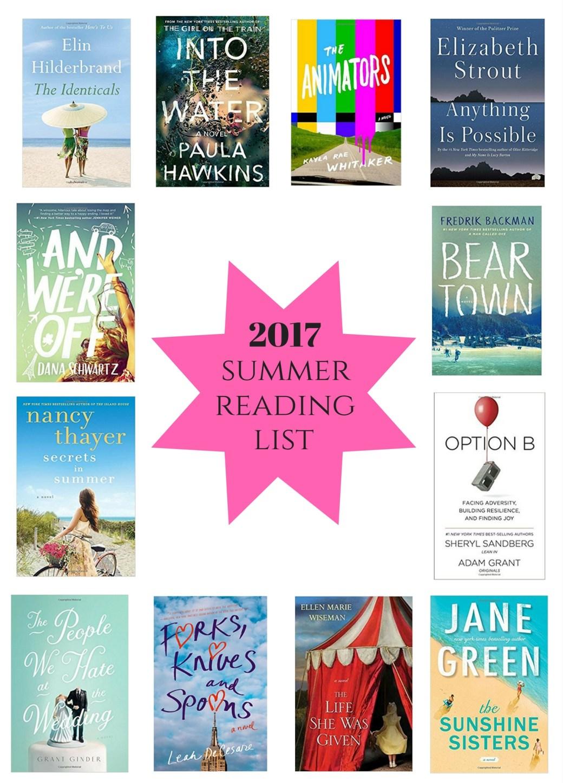 2017 summer reading list I howsweeteats.com