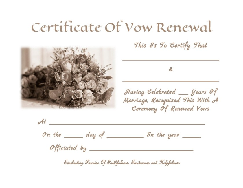 Selecting The Perfect Vow Renewal Invitation Wording