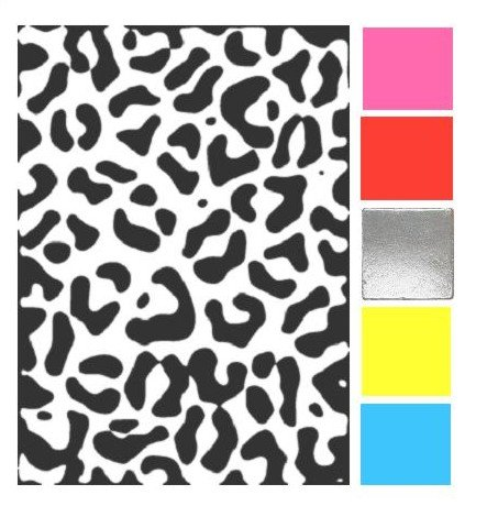 How Would You Match Black & White Leopard Print?