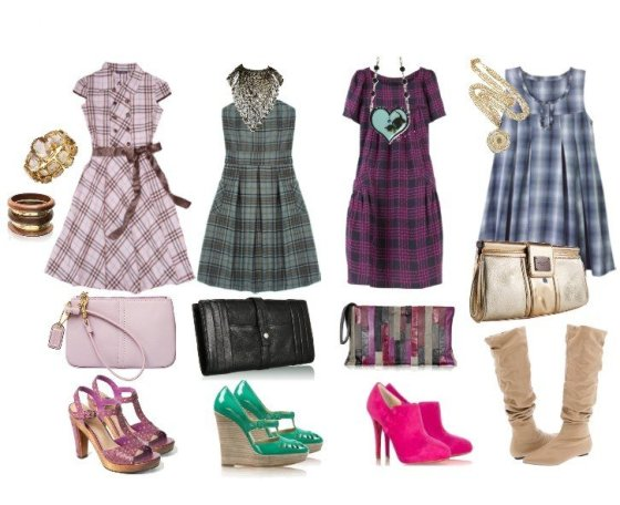 How to Wear Plaid Dresses: Tips & Ideas 1