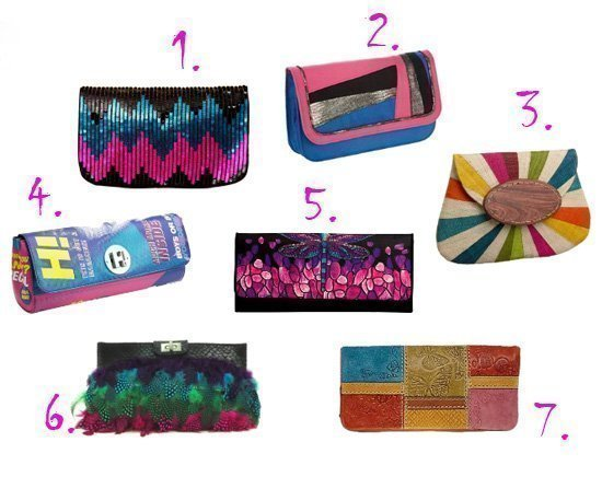 Shopping Time: Multi-Colored Clutches Under $50! 13