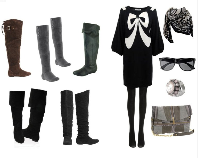 Shopping Time: Over-the-Knee Boots Under $50!
