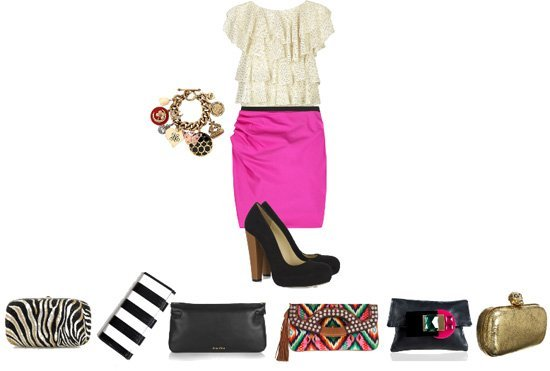 This Outfit Needs a Clutch!  8