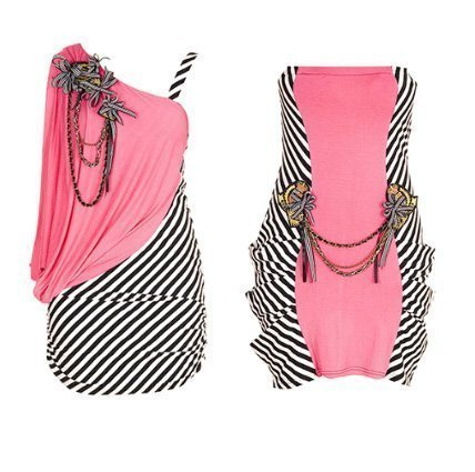 Quirky Pink + Striped Dresses - Hit or Miss? 1