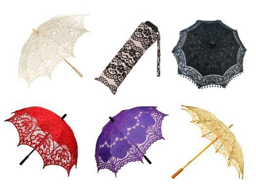Shopping Time: Lace Umbrellas 8