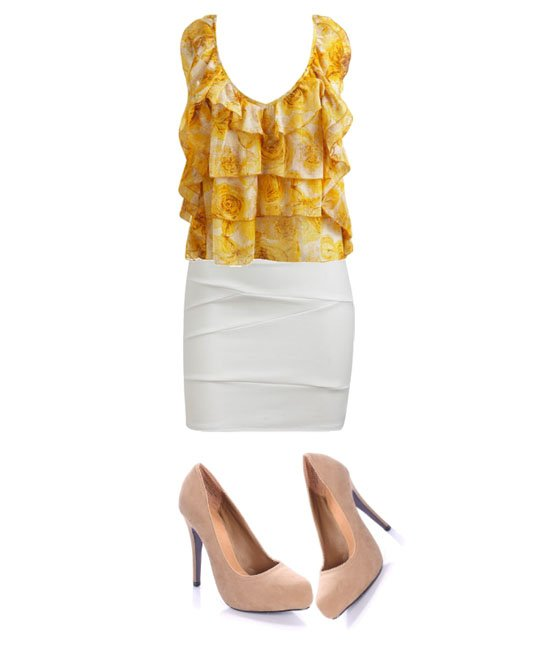 Daily Look – Dressy Ruffle Outfit for $100