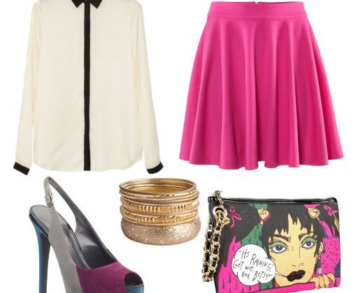 Daily Look: Funky Hot Pink Outfit for Less Than $150 2
