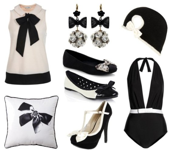 Trend Alert: 8 Black and White Bow Picks and How to Wear Them 6