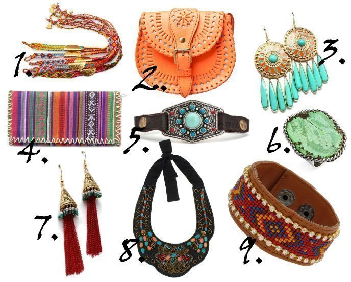 Trend Alert: Hippie Accessories and How to Wear Them