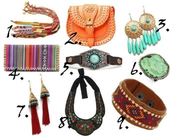 Trend Alert: Hippie Accessories and How to Wear Them 1