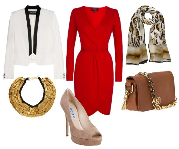 How to Combine Red with Leopard Without Looking Tacky 1