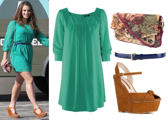 Get Her Style: Jessica Lowndes' Outfit for $93