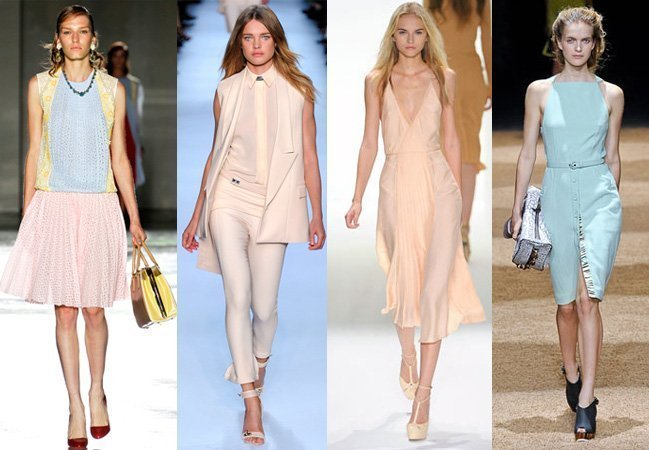 Spring 2012 Runway Trends: Love for Pastels
