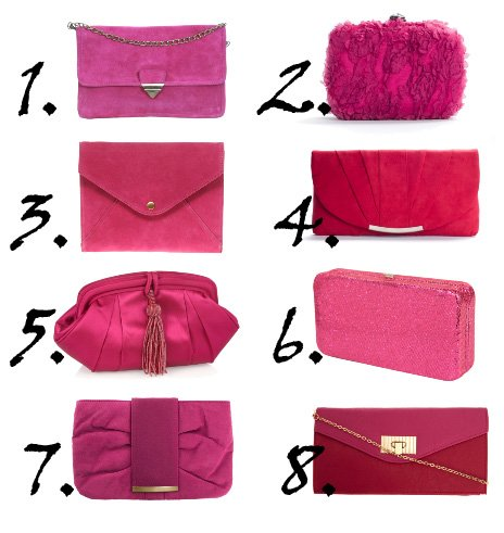 Shopping Time: Hot Pink Clutches Under $50  16