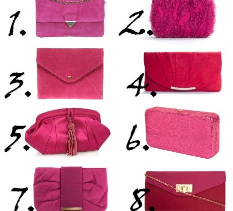 Shopping Time: Hot Pink Clutches Under $50  3