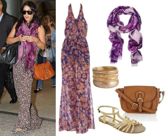 Get Her Style: Dress Like Vanessa Hudgens for Less Than $150 16