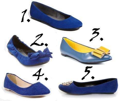 Shopping on a Budget: Cobalt Blue Flats Under $50 1