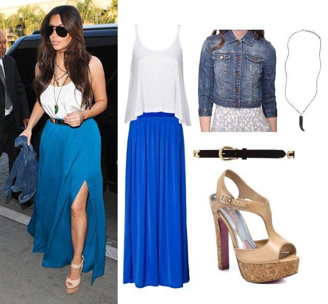 Get Her Style: Dress Like Kim Kardashian for $211