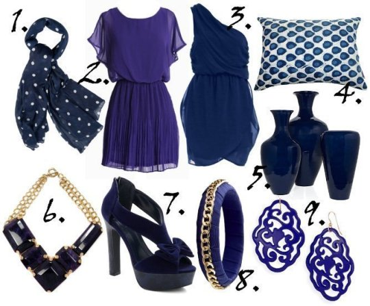 Color of the Week: Indigo! 9 Great Finds Under $50 1
