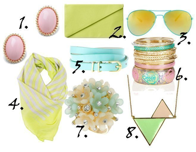 Just in Time for Spring: Pastel Accessories Under $30