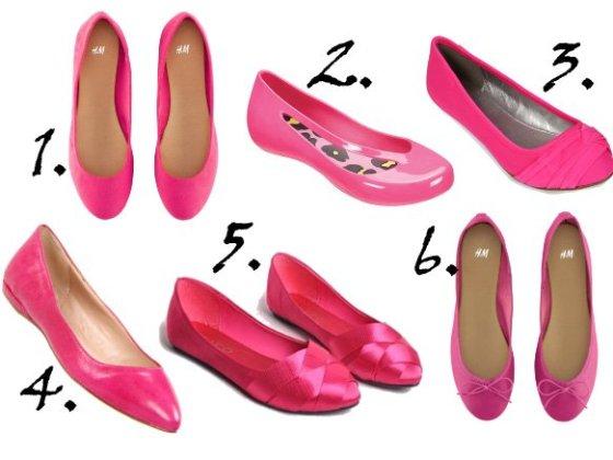 Shopping Time: Hot Pink Ballet Flats Under $60 2
