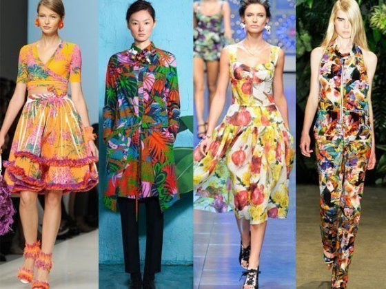 Runway Trends 2012: Tropical Cocktails + 6 Picks Under $115 2