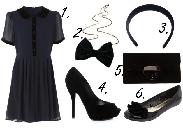 Cheap Finds of the Week: Black Velvet Details from $8 to $42